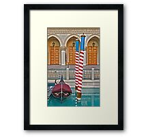 Touch of Venice Framed Print
