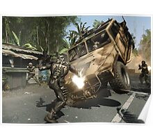 Crysis Action Poster