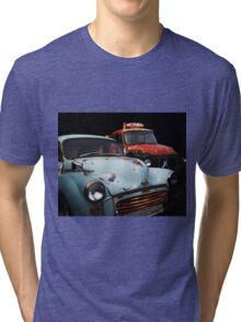 Pop the hood. Tri-blend T-Shirt