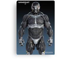 Nanotechnology Crysis 2 Canvas Print