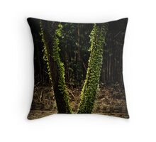 Nature's Wishbone Throw Pillow
