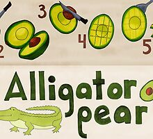 Alligator Pear by ashbrau