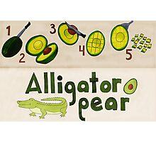 Alligator Pear Photographic Print