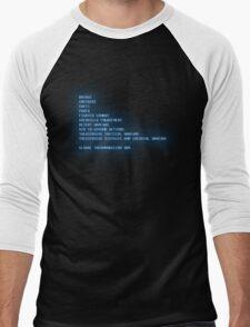 Globalthermonuclear War Men's Baseball ¾ T-Shirt