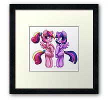 little Princesses ~version 2 Framed Print