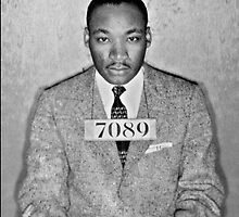 Martin Luther King Arrest by Xelene