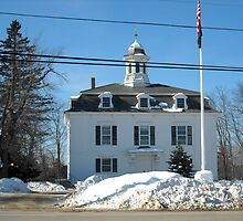 Historical Town Hall Royalston MA by Rebecca Bryson
