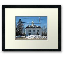 Historical Town Hall Royalston MA Framed Print