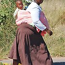 Mother and Child, Gaborone, Botswana, Africa by Adrian Paul