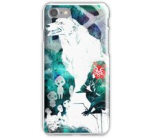 Princess Mononoke Watercolor iPhone Case/Skin