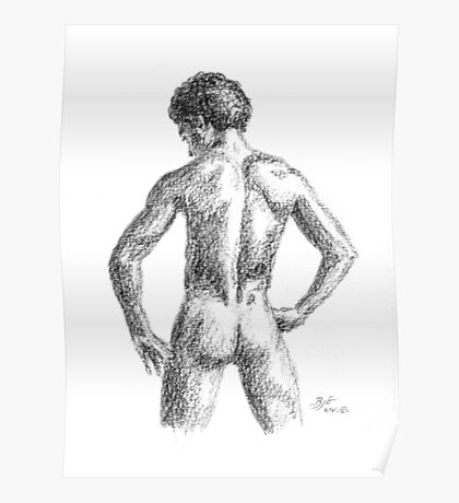 Male nude Poster