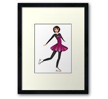 Figure Skater 2 Framed Print