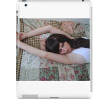 White Vest 11 iPad Case/Skin