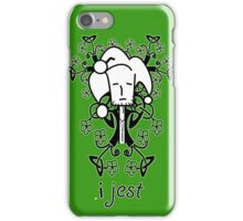 Surely I Jest iPhone Case/Skin