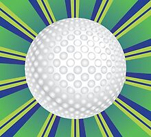 Golf Ball Background by AnnArtshock