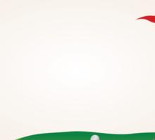 Golf Field Sticker