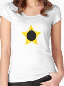 Bomb Star Women's Fitted Scoop T-Shirt