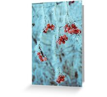 Retro Frozen Rowan 4 Greeting Card
