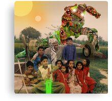 Karachi Kickbots are a Family's Best Friend Canvas Print