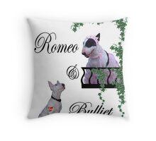 Romeo & Bulliet Throw Pillow