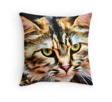 """Meowza!"" Throw Pillow"