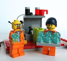 Breaking bad lego  by shootingnelly