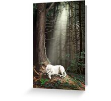 Dreaming in the Forest Greeting Card