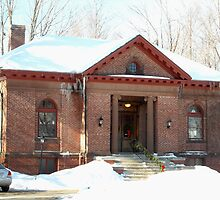 Phinehas S Newton Library Royalston MA by Rebecca Bryson