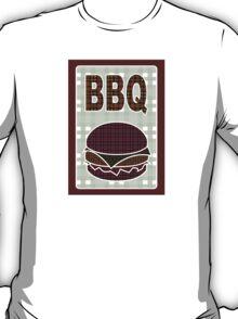 plaid bbq T-Shirt