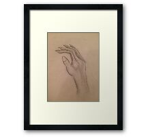 The Witching Hand  Framed Print