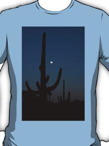 Saguaro Sleeping T-Shirt
