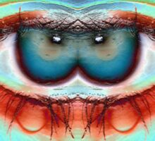 Exotically Wicked Games - Funky Eyeball art Sticker