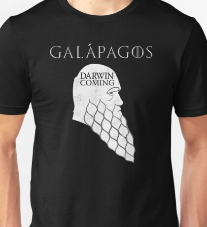 Darwin is Coming Unisex T-Shirt