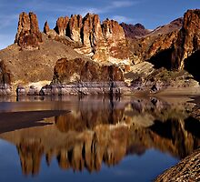 Lake Owyhee  by Teri Argo