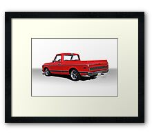 1969 Chevrolet CST10 Pickup 'Studio II' Framed Print
