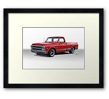 1969 Chevrolet CST10 Pickup 'Studio I' Framed Print