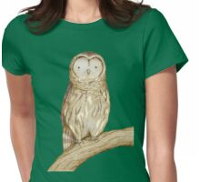 Tawny Owl Womens Fitted T-Shirt