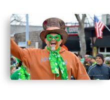 St. Patrick's Day Parade - People | Center Moriches, New York Canvas Print