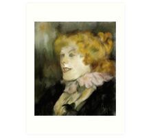 Miss Dolly after Toulouse Lautrec  Art Print