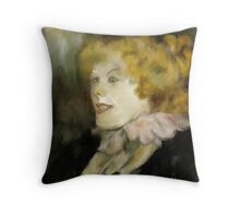 Miss Dolly after Toulouse Lautrec  Throw Pillow
