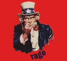 Uncle Sam - Ragin' by CuriosiTeez