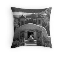 Santuario de Chimayo Shrine, Chimayo, New Mexico Throw Pillow