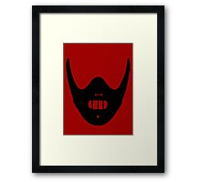 Hello, Clarice. - (Silhouette) Framed Print