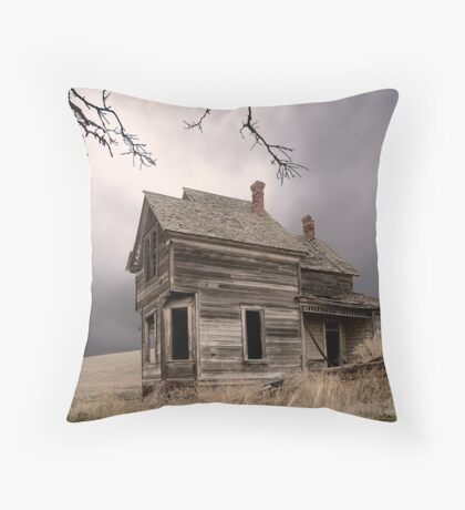 House of Forgotten History Throw Pillow
