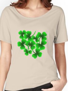Bunch of Shamrock for Saint Patrick's Day Women's Relaxed Fit T-Shirt