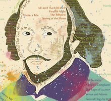Portrait of William Shakespeares by famenxt