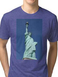Statue of Liberty, New York Tri-blend T-Shirt