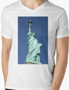 Statue of Liberty, New York Mens V-Neck T-Shirt