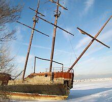 Jordan Station Shipwreck by deb cole