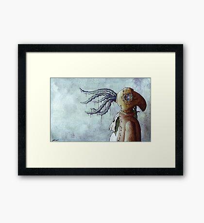 Octopus Man Framed Print